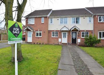 Thumbnail 2 bed terraced house for sale in Caddaw Avenue, Hucknall, Nottingham