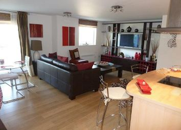 Thumbnail 2 bedroom flat to rent in Brecon House, Gunwharf Quays, Portsmouth