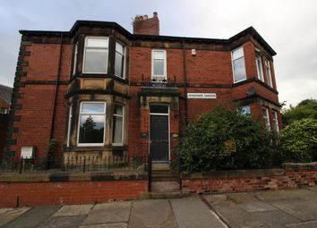 Thumbnail 6 bed terraced house to rent in Lansdowne Gardens, Jesmond, Newcastle Upon Tyne