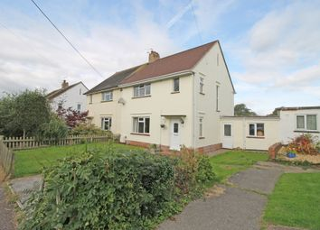 Thumbnail 3 bed semi-detached house for sale in Parkway, Woodbury, Exeter