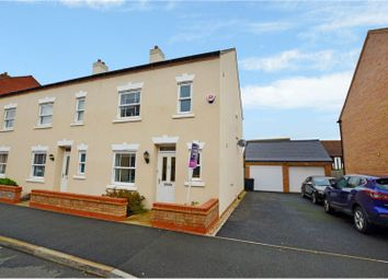 Thumbnail 3 bed end terrace house for sale in Broad Mead Avenue, Bedford