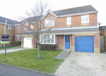 Thumbnail 4 bed property for sale in Riverside Approach, Gainsborough