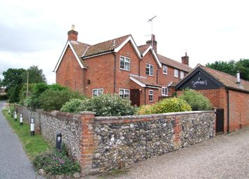 Thumbnail 2 bed end terrace house for sale in Great Glemham Road, Stratford St Andrew, Saxmundham