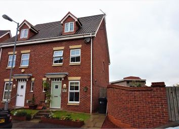 Thumbnail 3 bed town house for sale in Haweswater Way, Hull