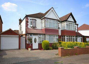 Thumbnail 3 bedroom semi-detached house for sale in Holt Road, North Wembley, Middlesex
