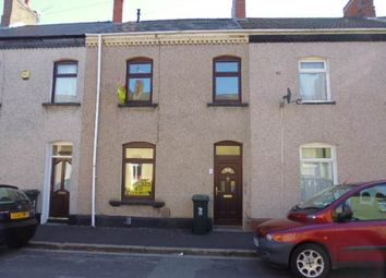 Thumbnail 3 bed terraced house to rent in Glebe Street, Newport