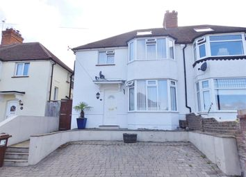 Thumbnail 3 bed semi-detached house for sale in Crunden Road, Eastbourne