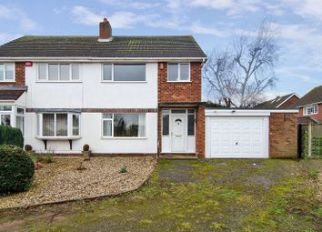 Thumbnail 3 bed semi-detached house for sale in Westwick Close, Stonnall, Walsall