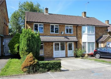 Thumbnail 3 bed semi-detached house for sale in Ralphs Ride, Bracknell