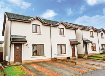 Thumbnail Semi-detached house for sale in Stirling Place, Plean, Stirling