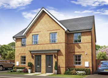 "Thumbnail 3 bedroom semi-detached house for sale in ""Aylton"" at Lancaster Avenue, Watton, Thetford"