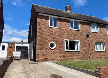 Thumbnail 3 bed semi-detached house for sale in Angerton Avenue, North Shields