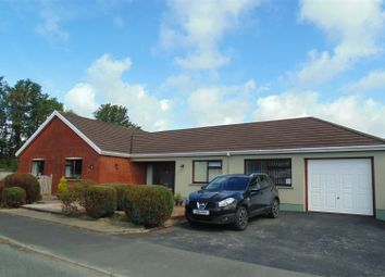 Thumbnail 4 bed detached bungalow for sale in Lindsway Park, Haverfordwest