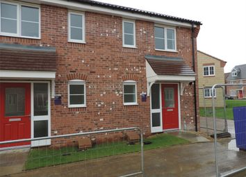 Thumbnail 2 bed terraced house to rent in Musselburgh Way, Bourne, Lincolnshire