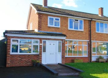 Thumbnail 3 bed semi-detached house for sale in Farr Close, Hereford