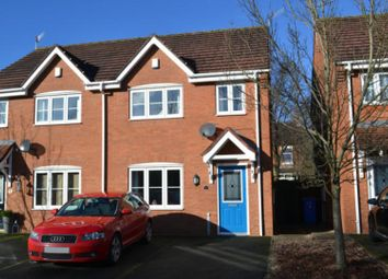 Thumbnail 3 bedroom semi-detached house for sale in Holm Close, Stoke, Stoke-On-Trent