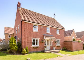 Thumbnail 4 bed detached house for sale in Woodward View, Scunthorpe, North Linconshire