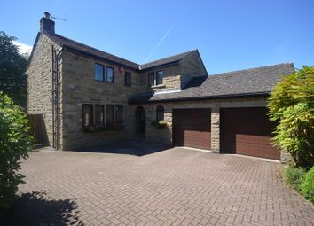 Thumbnail 4 bed detached house for sale in Benomley Road, Almondbury, Huddersfield