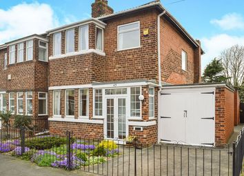 Thumbnail 3 bed semi-detached house for sale in Ellesmere Avenue, Hull