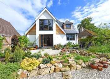 Thumbnail 3 bed detached house for sale in Dene Walk, Lower Bourne, Farnham, Surrey