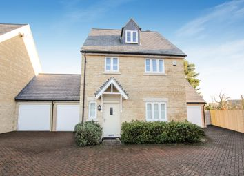 Thumbnail 4 bed detached house for sale in Pixey Close, Yarnton, Kidlington