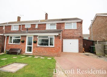 Thumbnail 5 bed semi-detached house for sale in Laurel Drive, Bradwell, Great Yarmouth