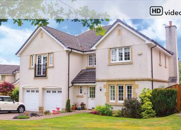 Thumbnail 5 bed detached house for sale in Braid Drive, Cardross, Dumbarton
