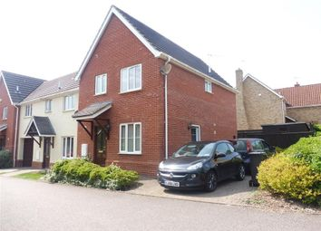 Thumbnail 3 bedroom end terrace house to rent in Blands Farm Close, Palgrave, Diss