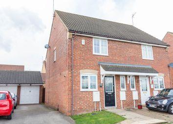 Thumbnail 2 bed semi-detached house for sale in Randall Close, Irthlingborough, Wellingborough
