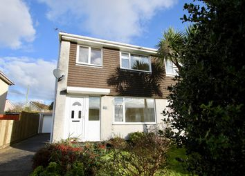 Thumbnail 3 bed semi-detached house to rent in Symons Close, St Austell