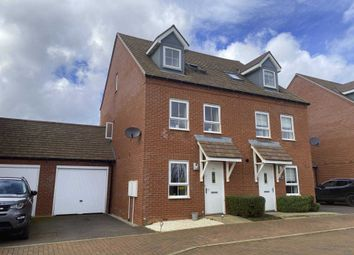 Thumbnail 4 bed semi-detached house for sale in Wren Crescent, Bodicote