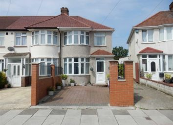 Thumbnail 3 bed end terrace house for sale in Laburnum Grove, Southall, Middlesex
