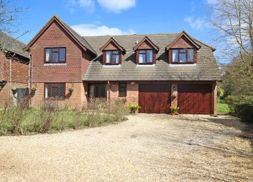 Thumbnail 5 bed detached house for sale in St. Johns Road, Bashley, New Milton