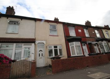 Thumbnail 3 bed terraced house to rent in Bolton Road, Wolverhampton