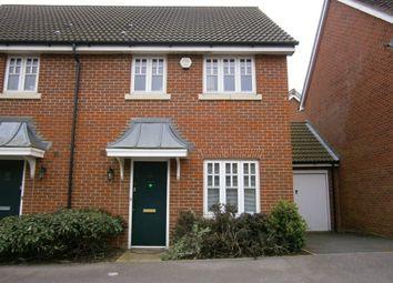 Thumbnail 3 bed semi-detached house to rent in Exbury Lane, Westcroft, Westcroft, Milton Keynes