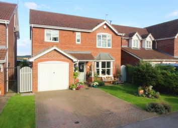 Thumbnail 4 bed detached house for sale in The Hawthorns, Long Riston, Hull