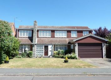 Thumbnail 5 bed detached house for sale in Norsey View Drive, Billericay