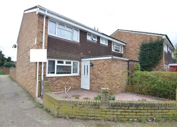 Thumbnail 3 bedroom end terrace house for sale in Slipe Lane, Broxbourne, Hertfordshire