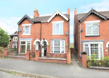 Thumbnail 3 bed semi-detached house for sale in Sunnyside, Newhall, Swadlincote