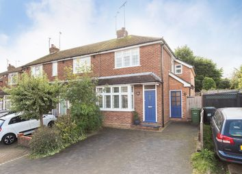 Thumbnail 3 bedroom end terrace house to rent in Weybourne Close, Harpenden