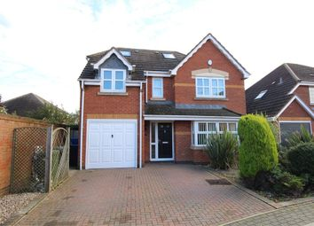 Thumbnail 5 bed detached house for sale in Forsythia Close, Lutterworth