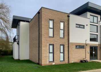 Thumbnail 2 bed flat for sale in Mill Court, Papworth Everard, Cambridge