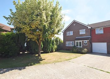 Thumbnail 4 bed link-detached house for sale in Corral Close, Chatham