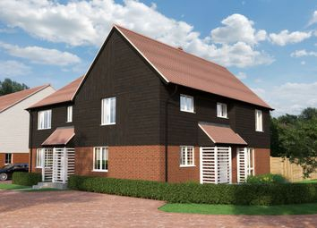 Thumbnail 3 bed semi-detached house for sale in Long Hill Lane, East Langdon, Dover