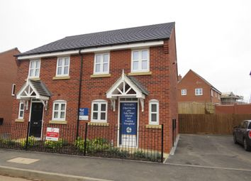 Thumbnail 2 bed semi-detached house for sale in Mount Pleasant Road, Repton, Derby