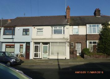 Thumbnail 3 bed terraced house to rent in Mill Lane, Wallasey