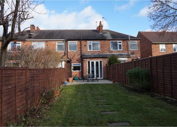 Thumbnail 3 bed terraced house for sale in Limehurst Avenue, Loughborough