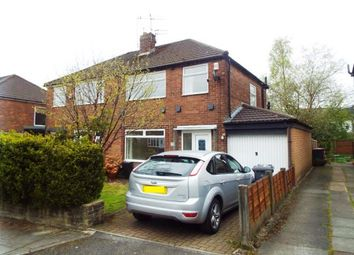 Thumbnail 3 bed semi-detached house for sale in Lyndene Avenue, Worsley, Manchester, Greater Manchester
