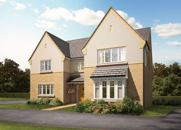 "Thumbnail 5 bedroom detached house for sale in ""The Inkberry"" at Knightley Road, Gnosall, Stafford"