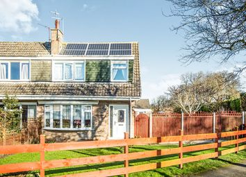 Thumbnail 3 bed semi-detached house for sale in Delamere Walk, Goole
